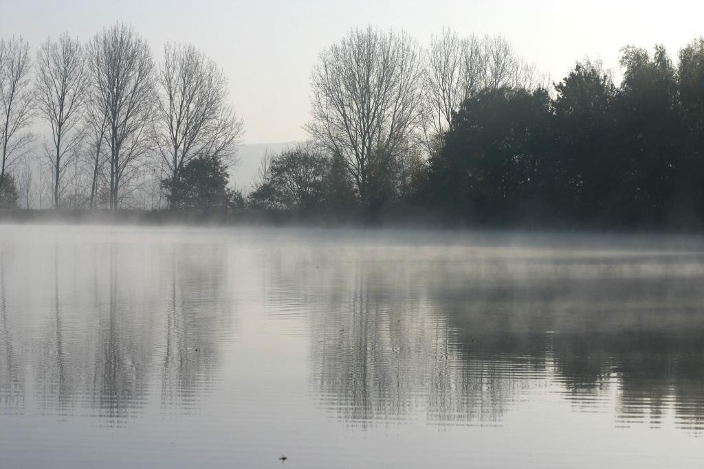 Brume matinale sur Bassin Est